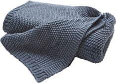 Biederlack Cosy Luxury takaró kék 3be48429d2