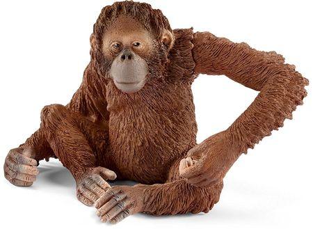 Schleich wild life orangutan, samica