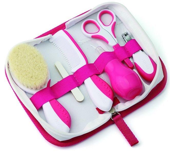 Nuvita Kosmetická sada pro miminka, Pink