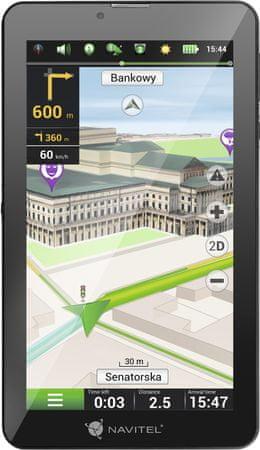 Navitel T700 3G, EU lifetime - rozbaleno