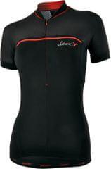 Silvini ženska kolesarska majica Catirina WD1002, črna/rdeča