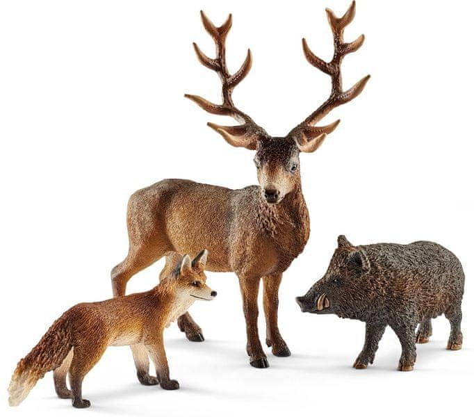 Schleich Set evropská lesní zvířátka 41458