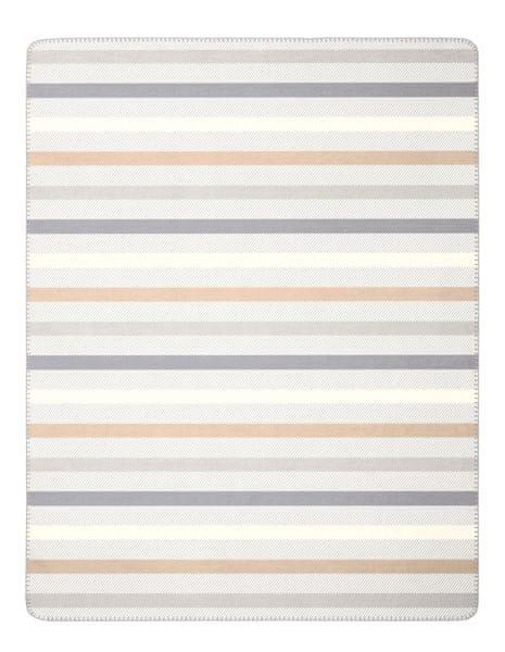 Biederlack Pastels Nature deka proužky 150x200cm