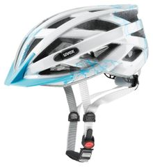 Uvex Kask rowerowy Air Wing Lightblue-Silver (2017)