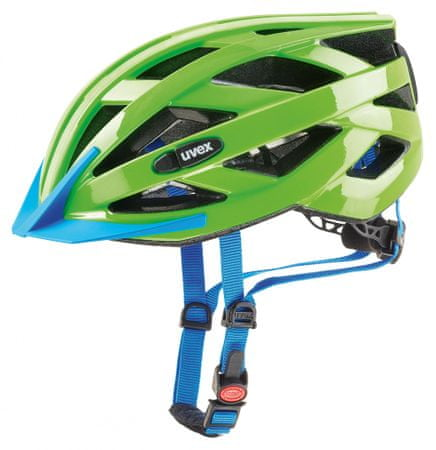 Uvex Kask rowerowy Air Wing Led Neon Green (2017)