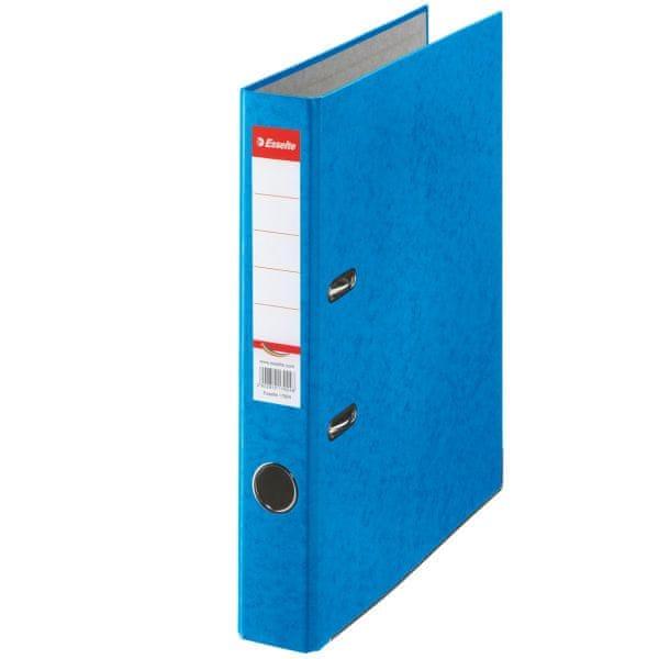 Pořadač pákový papírový Rainbow A4 5 cm modrý