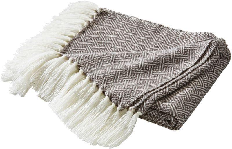 Biederlack Contrast & Style deka Linearis šedá