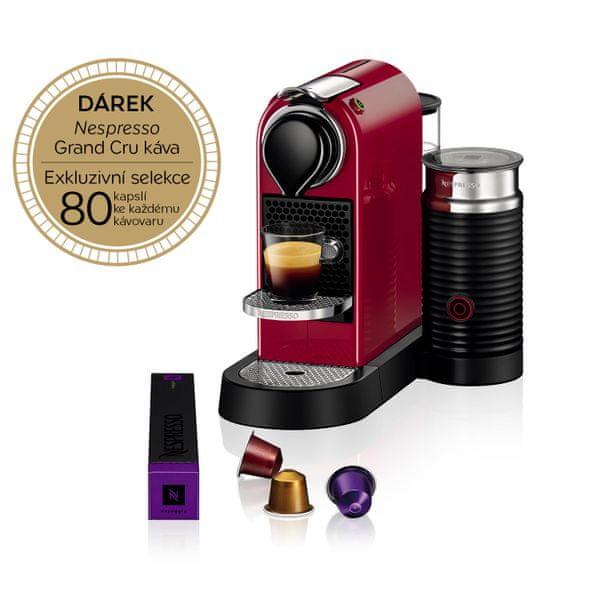 Nespresso KRUPS Nespresso Citiz& Milk Red XN760510
