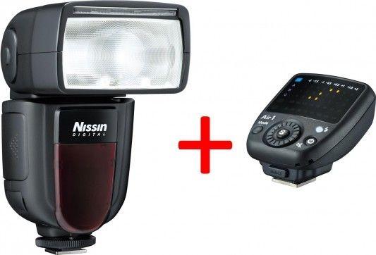 Nissin Di700A + odpalovač Air 1 pro Canon