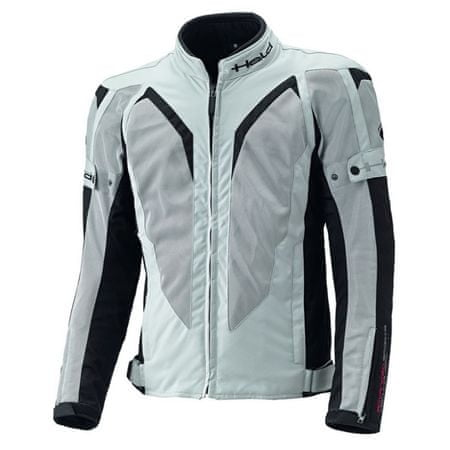 Held pánska športová letná moto bunda  SONIC sivá/čierna
