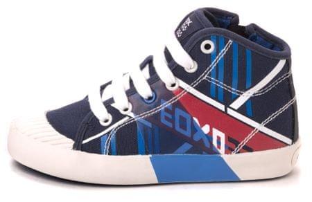 Geox tenisówki chłopięce Kiwi 34 niebieski