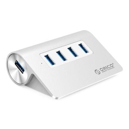 Orico USB 3.0 razdelilnik, 4 vhodi (M3H4-V1-SV)