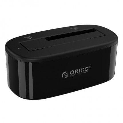 Orico priklopna postaja za HDD in SDD diske, 6,35 / 8,89cm (2,5 / 3,5), črna