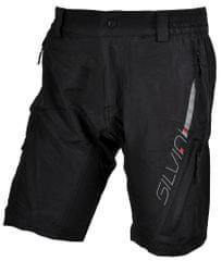 Silvini moške hlače Mago MP858, črne