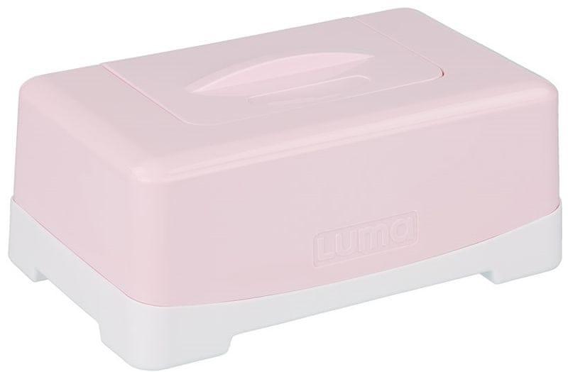 Luma Box na vlhčené ubrousky, Pretty Pink
