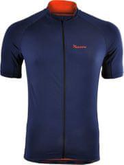 Silvini moška kolesarska majica Pescara MD1025, oranžna in temno modra