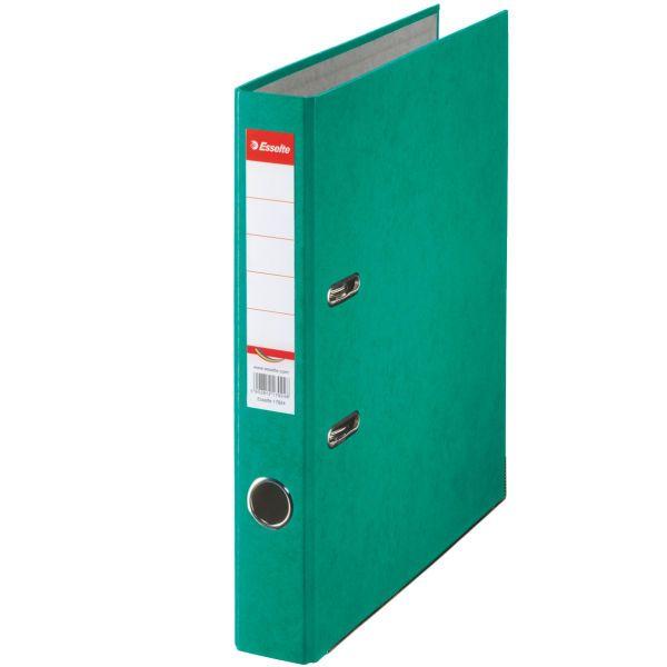 Pořadač pákový papírový Rainbow A4 5 cm zelený