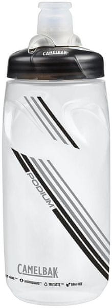 Camelbak Podium 0,6 l Clear Carbon