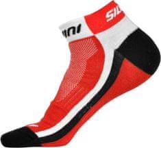 Silvini kolesarske nogavice Plima UA622, rdeče