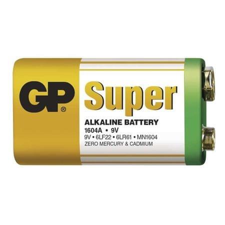 GP baterija super 6LF22, 1 kos