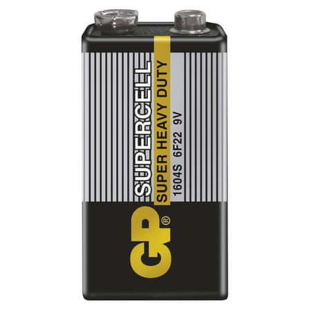 GP baterija Supercell 6F22, 1 kos