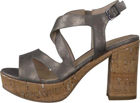 s.Oliver ženske sandale 39 siva