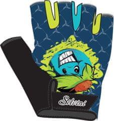 Silvini otroške kolesarske rokavice Punta CA848, modre/rumene