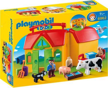 Playmobil 6962 Moje první přenosná farma
