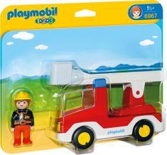Playmobil Wózek strażacki z drabiną 6967