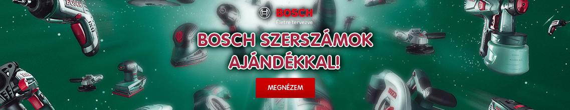Bosch szerszámok ajándékkal!