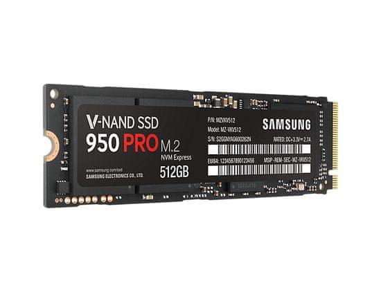 Samsung M.2 SSD disk 950 PRO 512 GB, PCI-e