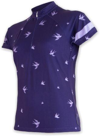 Sensor Damska koszulka rowerowa Cyklo Swallow Blue