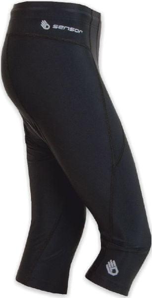 Sensor Cyklo Entry dámské kalhoty 3/4 černá XL