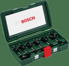 Bosch 12-delni komplet rezkarjev iz karbidne trdine, steblo Ø 8 mm (2607019466)