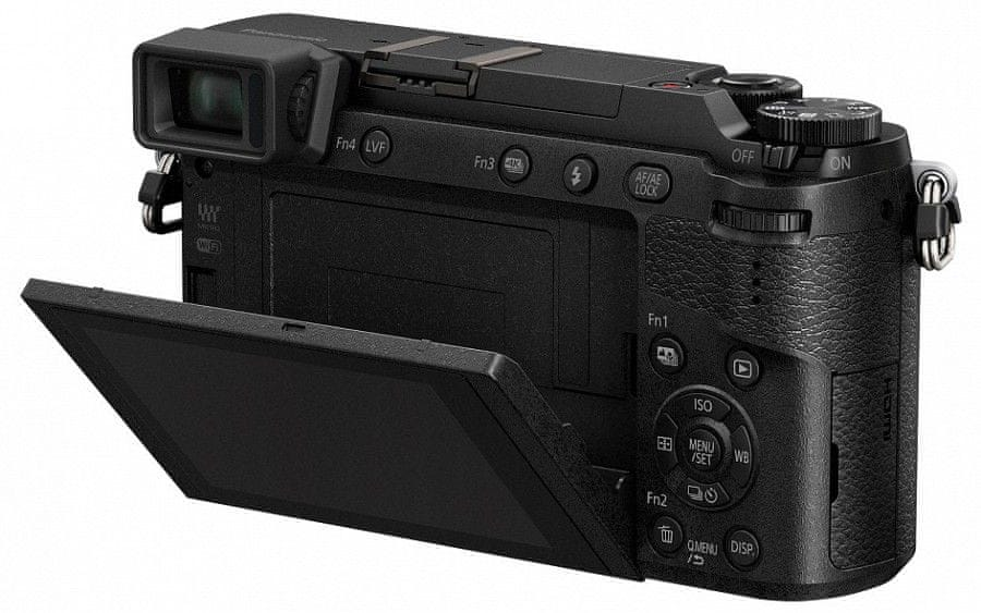 Panasonic Lumix DMC-GX80 + 12-32 mm Black (DMC-GX80KEGK)