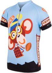 Sensor otroška kolesarska majica Chimpanzee