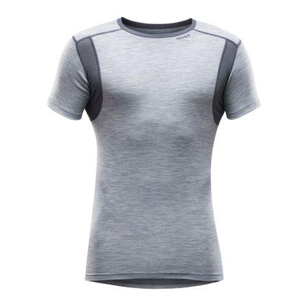 Devold pohodna majica Grey Melange, M