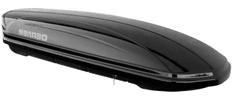 Menabo krovna kutija Mania 580 Duo ABS, crna