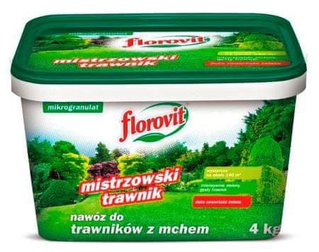 Florovit nawóz do trawników z mchem, 4 kg