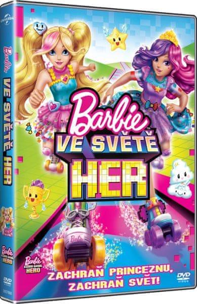 Barbie: Ve světě her - DVD