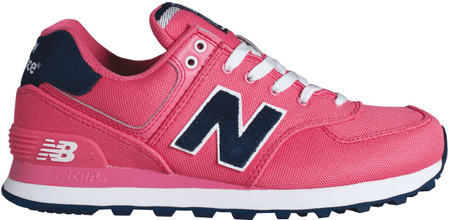 New Balance športni copati WL574POP, roza, 38