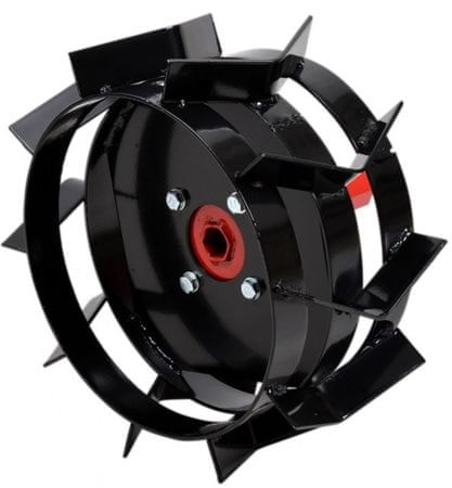 Hecht 007104 Acél körmöskerekek kapálógéphez