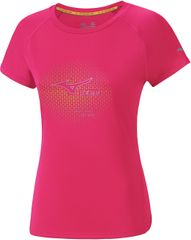 Mizuno Core Graphic Tee Diva Pink
