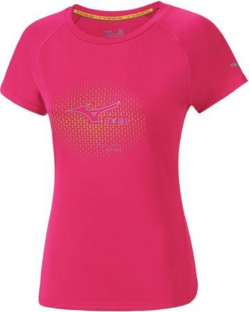 Mizuno ženska majica Core Graphic, roza, XL