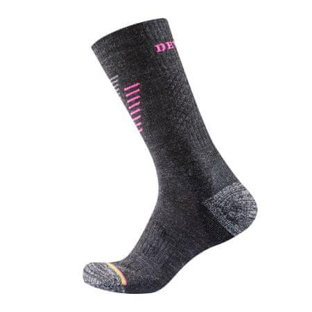 Devold ženske pohodne nogavice, sive, S