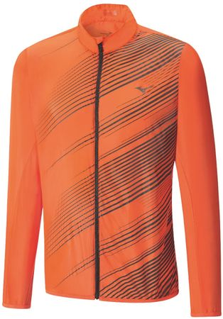 Mizuno moška jakna Premium Aero, oranžna, L
