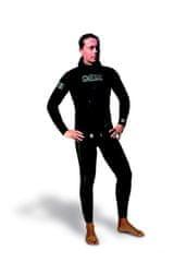 Oblek dvoudílný neoprénový na freediving Gold Black 5 mm, Omer