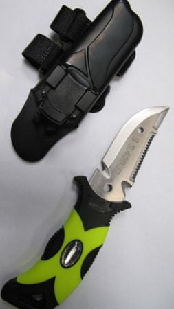 DIVEMARINE Nůž - s pouzdrem na hadici, Divemarine