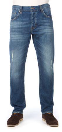 Mustang jeansy męskie Bonneville 32/32 niebieski