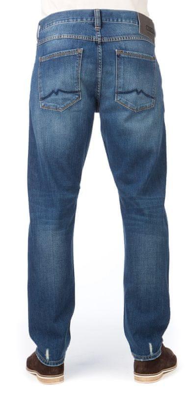 8a346021dc34 ... 2 - Mustang pánské jeansy Bonneville 31 32 modrá ...